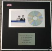 PET SHOP BOYS - CD Album Award - DISCOGRAPHY